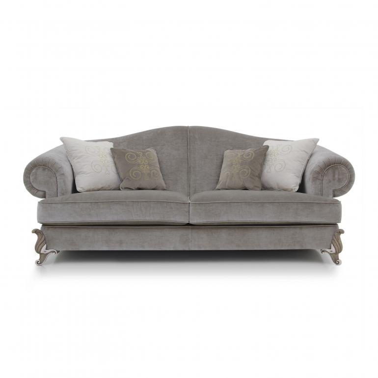 baroque style wood sofa kalo 5641