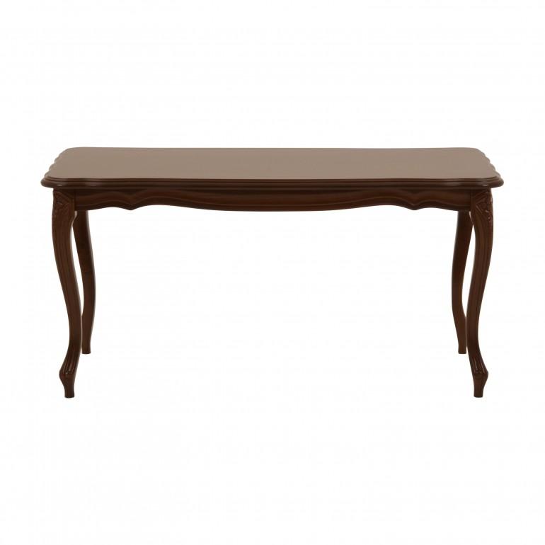 tavolino rettangolare legno classico