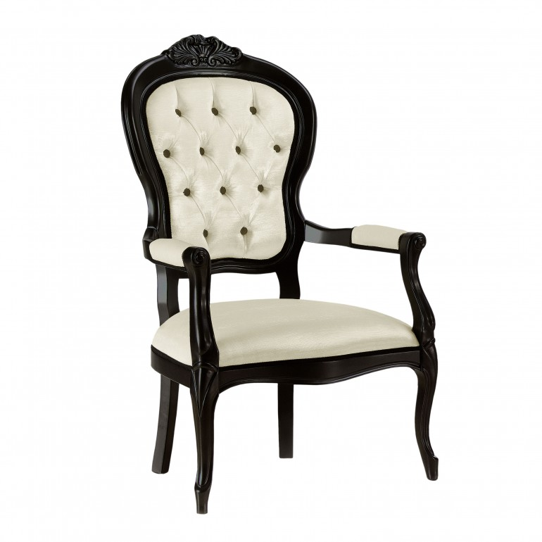 classic style wood armchair cresta 5369