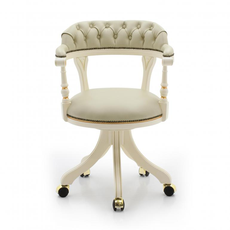 classic style wood armchair eleonora 3121