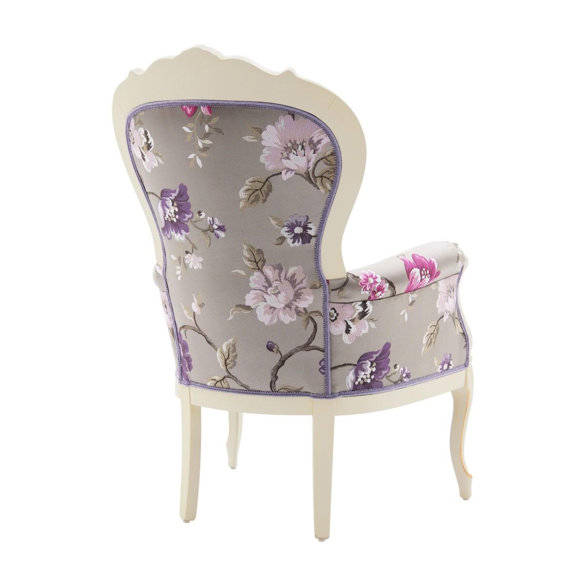 classic style wood armchair foglia 4 1425