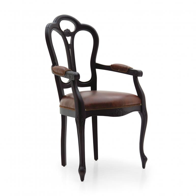classic style wood armchair giglio 5 6916