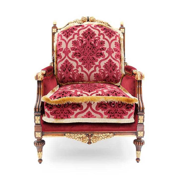 classic style wood armchair giove 3485