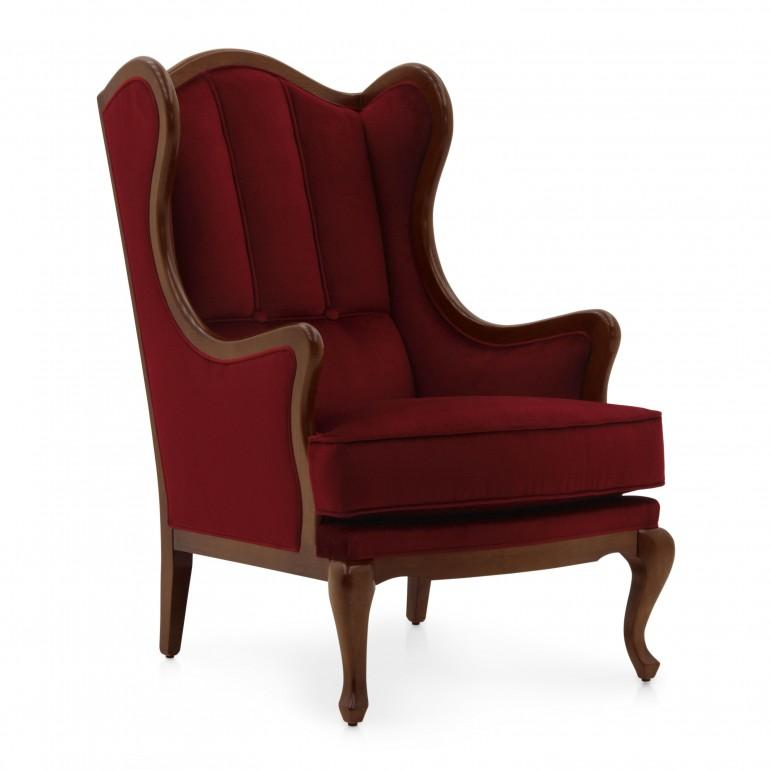 classic style wood armchair leia 3061