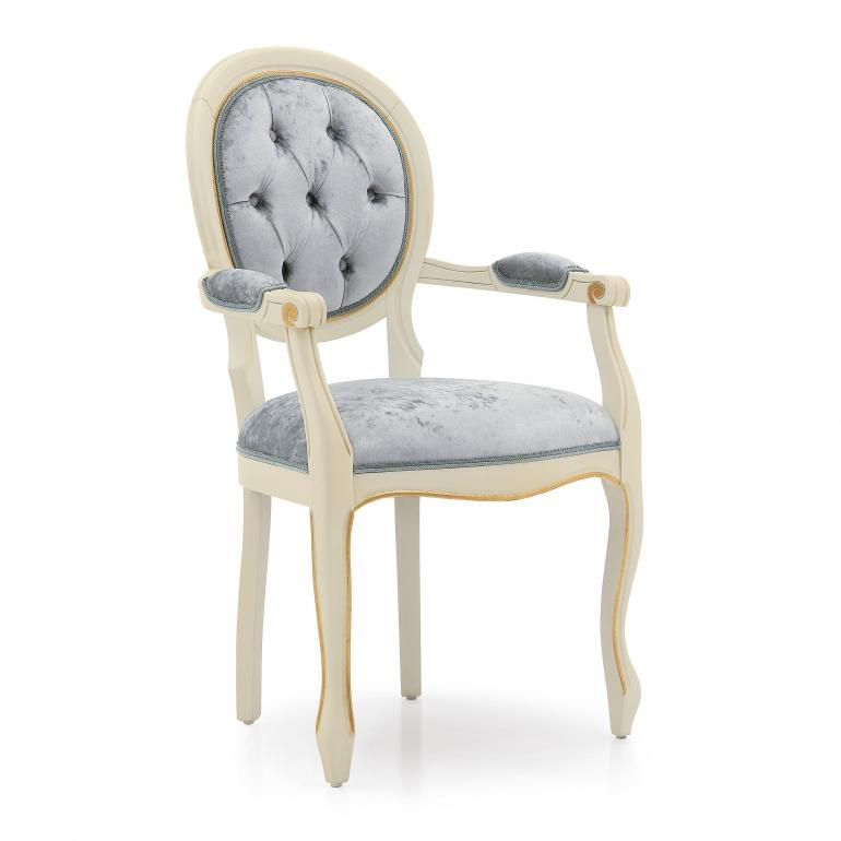 classic style wood armchair liberty 53 4778