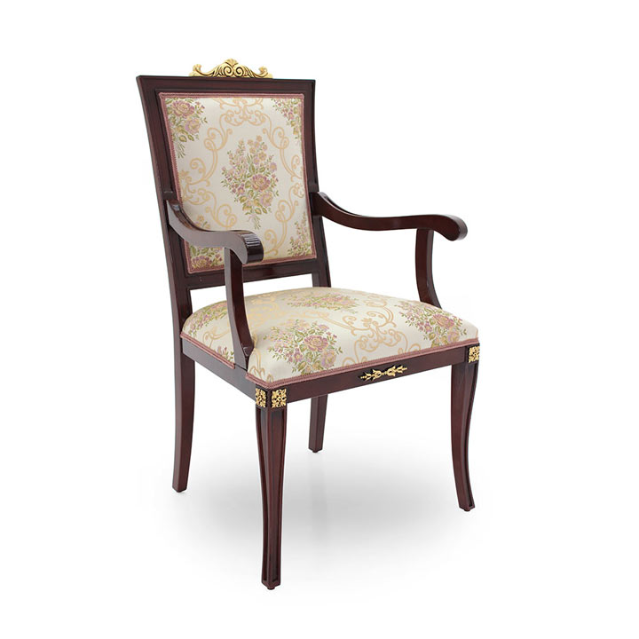 classic style wood armchair lorena 99 5390