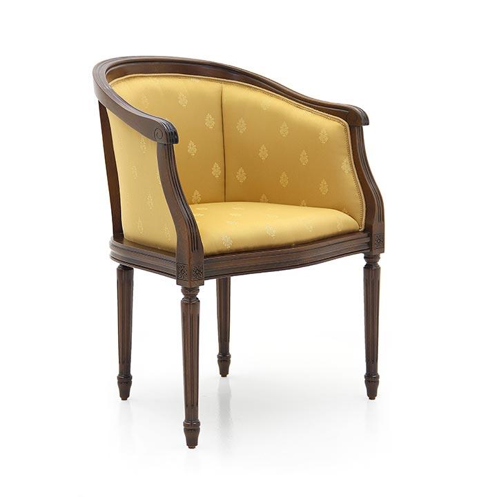 classic style wood armchair luigi b 6962