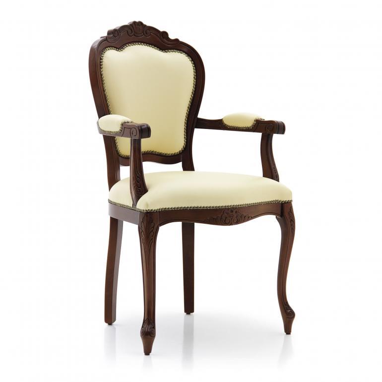 classic style wood armchair miledi 15 8600