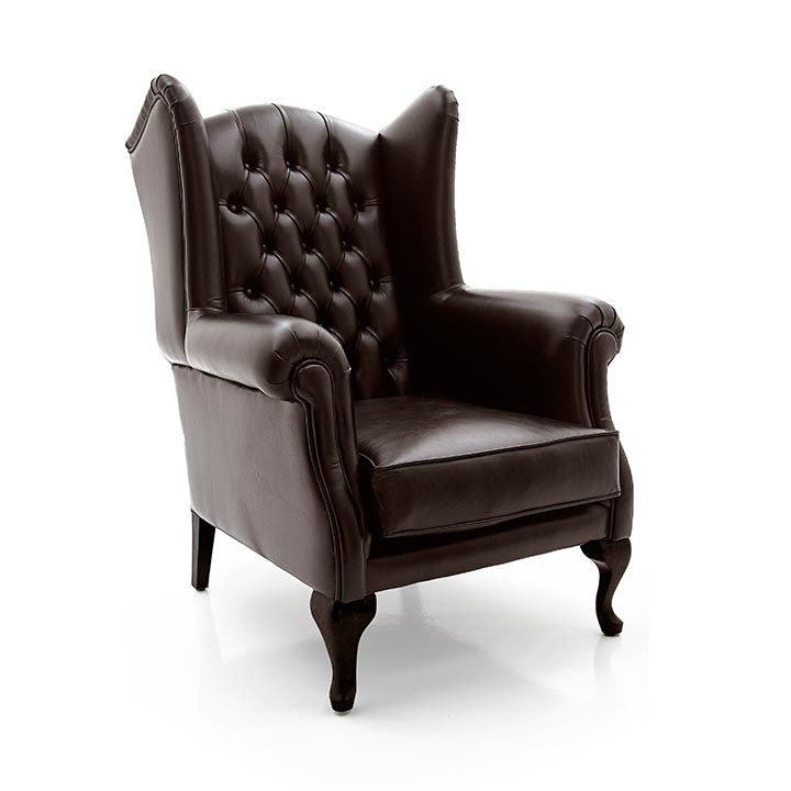 Classic Style Armchair Made of Wood Old England 486 | Sevensedie