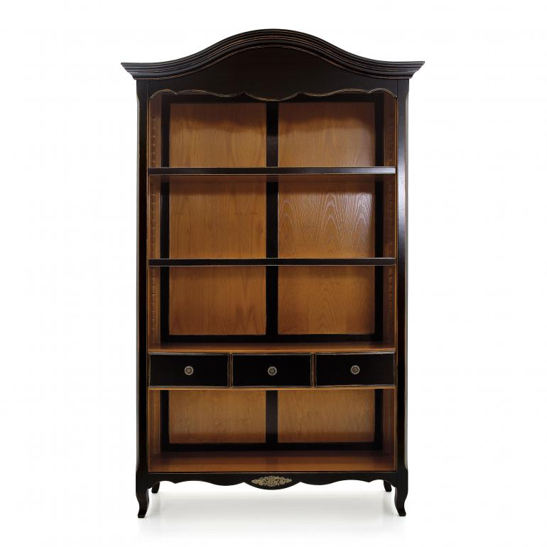 classic style wood bookcase morgan 4896