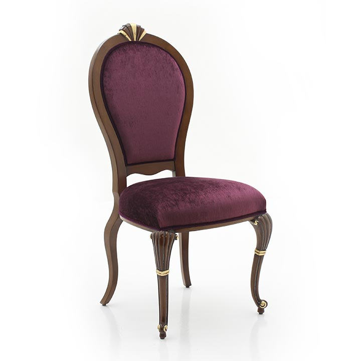 classic style wood chair anna 7098