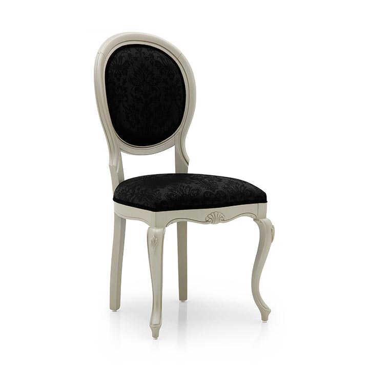 classic style wood chair evia 73 4465