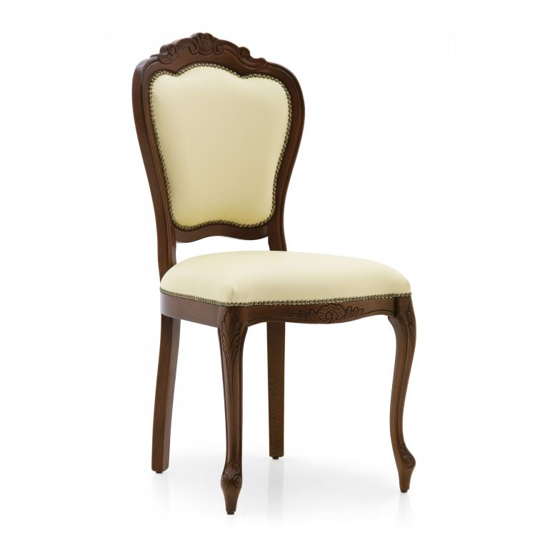 classic style wood chair miledi 41 7520