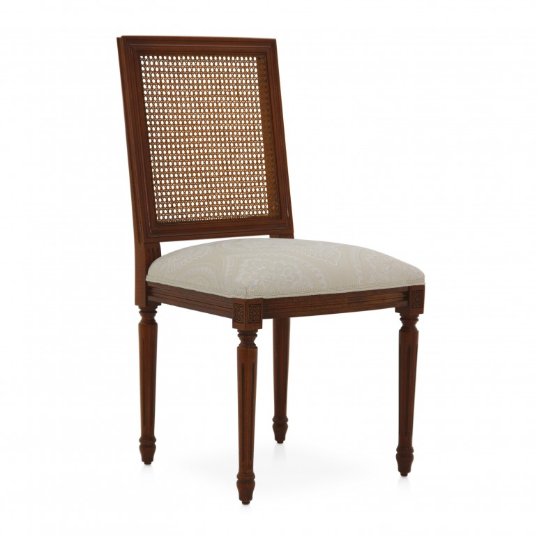 classic style wood chair settecento 7466 3779