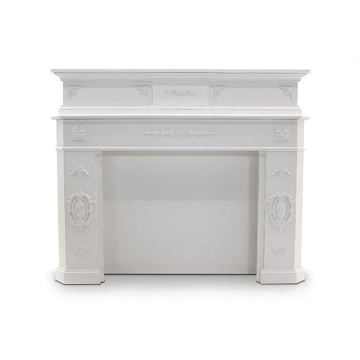classic style wood fireplace calidus 1203