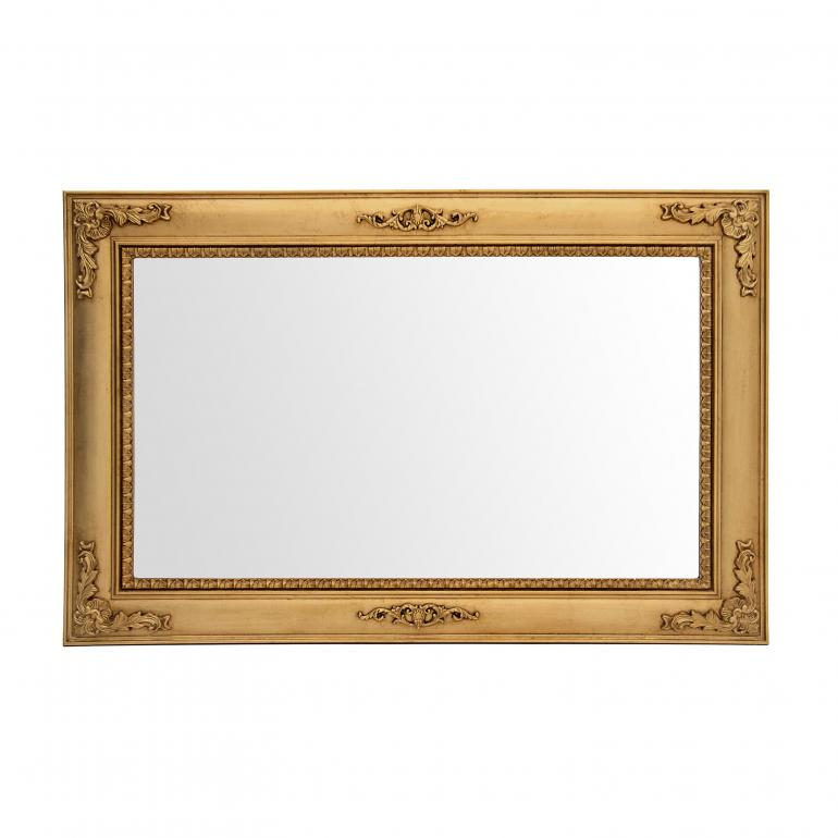 classic style wood mirror ionide 1098 7723