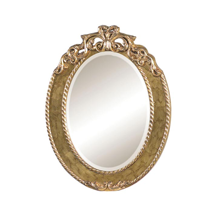 classic style wood mirror ludovica 604