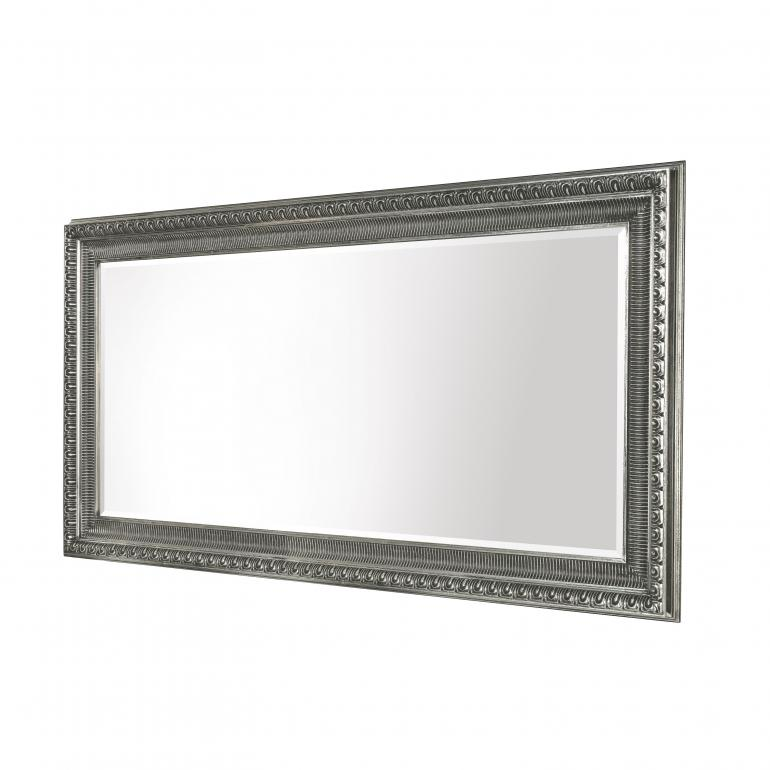 classic style wooden mirror