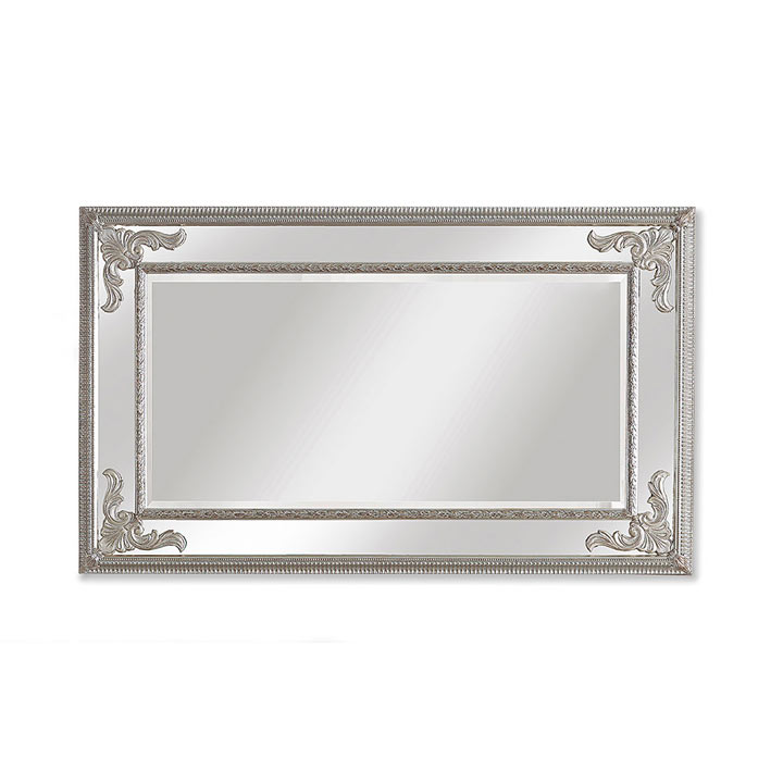 classic style wood mirror placido 3588