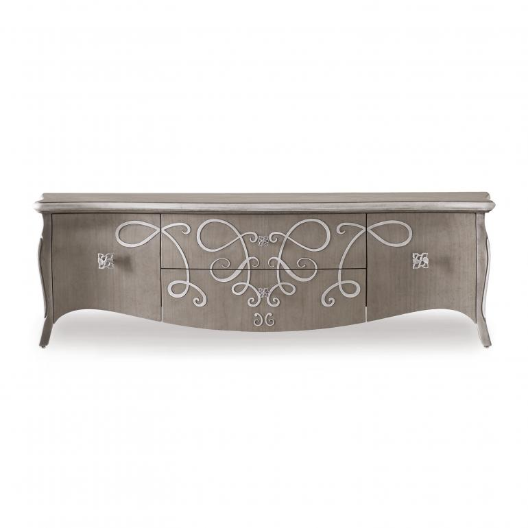 classic style wood sideboard butterfly 60 6474
