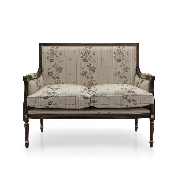 classic style wood sofa luigi b 36 7225
