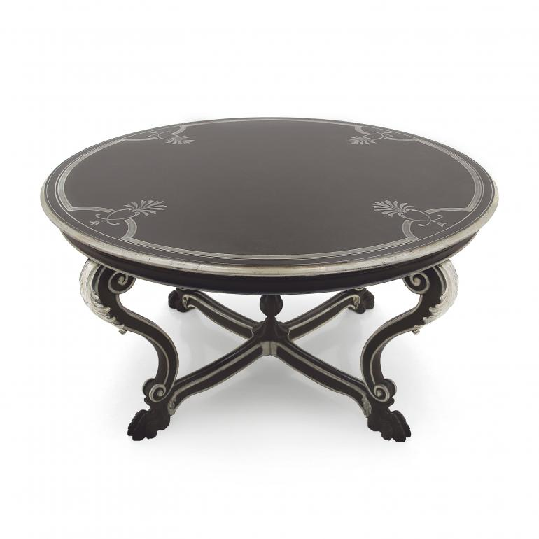 venetian style wooden table