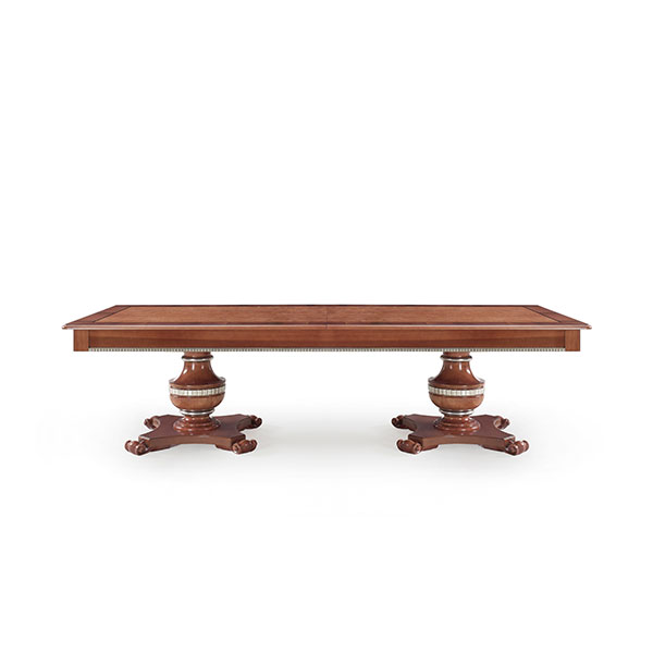 classic style wood table paride 6880