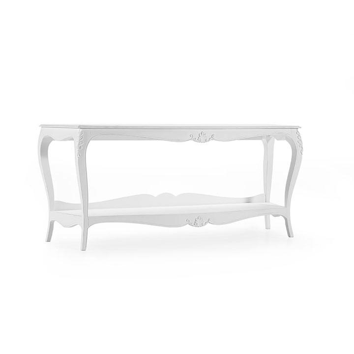 classic style wooden console table