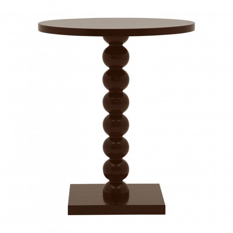 contemporary style wooden small table