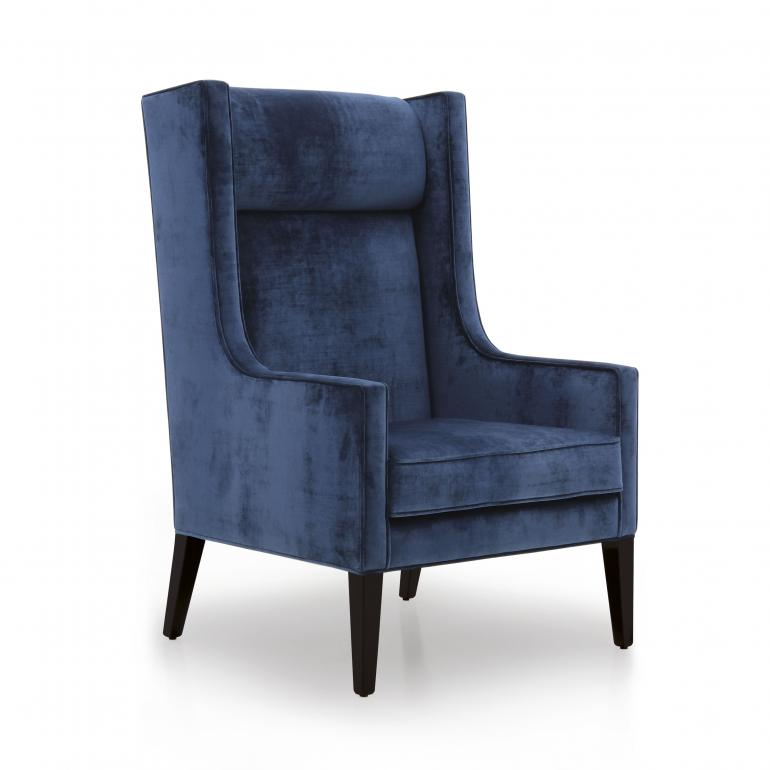 contemporary style wood armchair diletta 8554