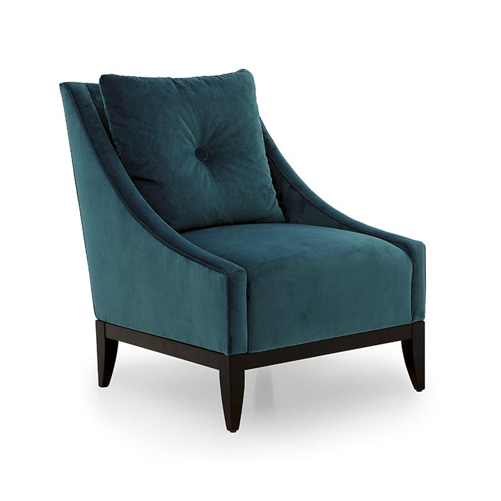 contemporary style wood armchair dorotea 570