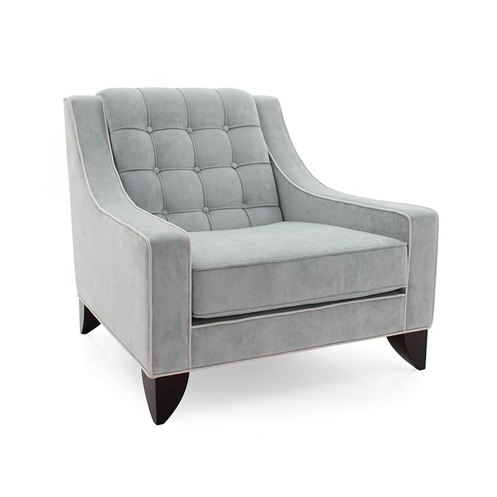 contemporary style wood armchair giunone 7065