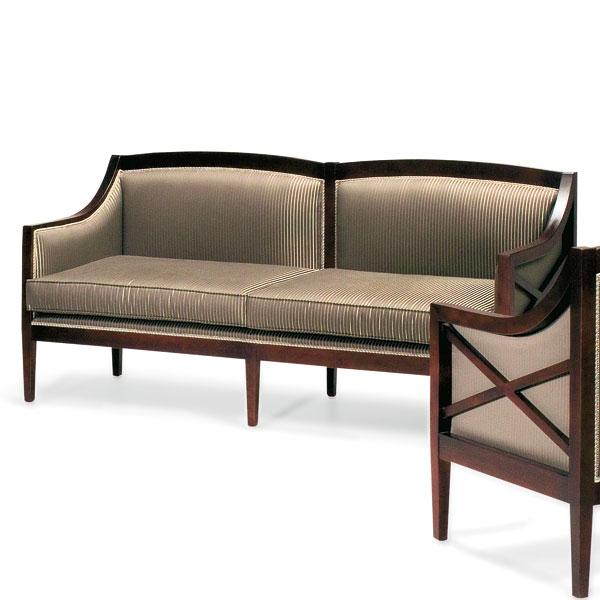 Art deco style sofa cesare seven sedie for Art deco style sofa