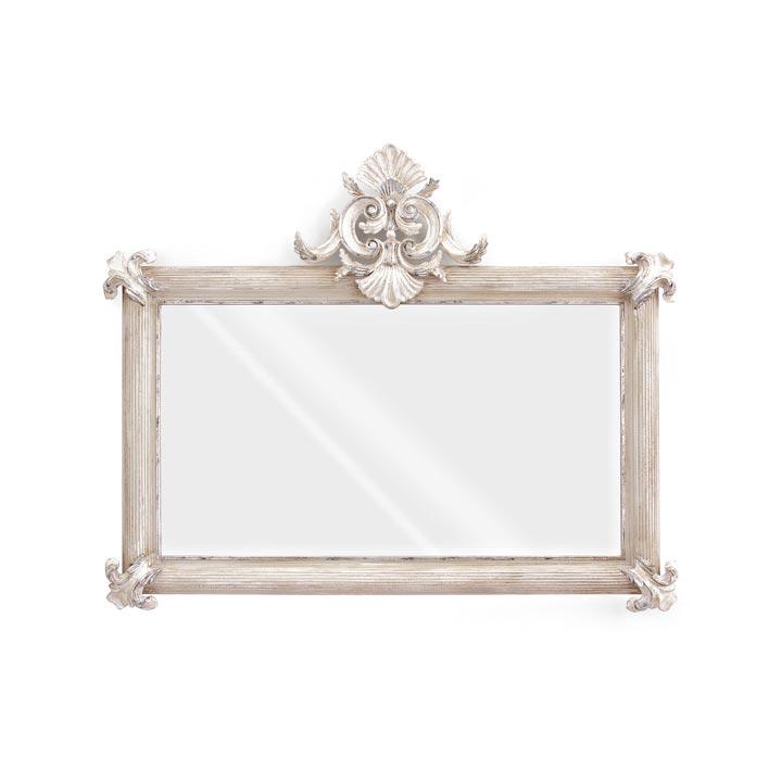 elegant classic style wood mirror dafne 80 5873
