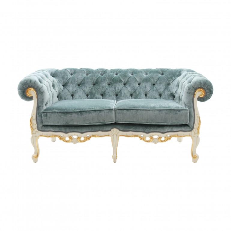 baroque style wooden sofa