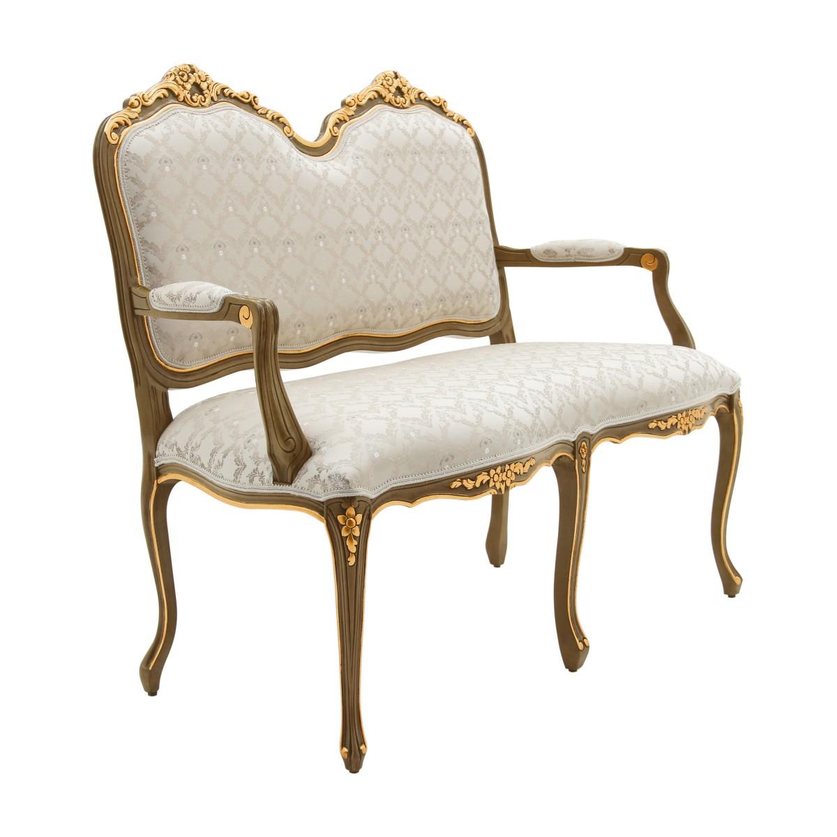 2 Seater sofa Monsieur - Sevensedie