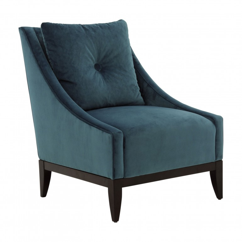 contemporary style wooden armchair