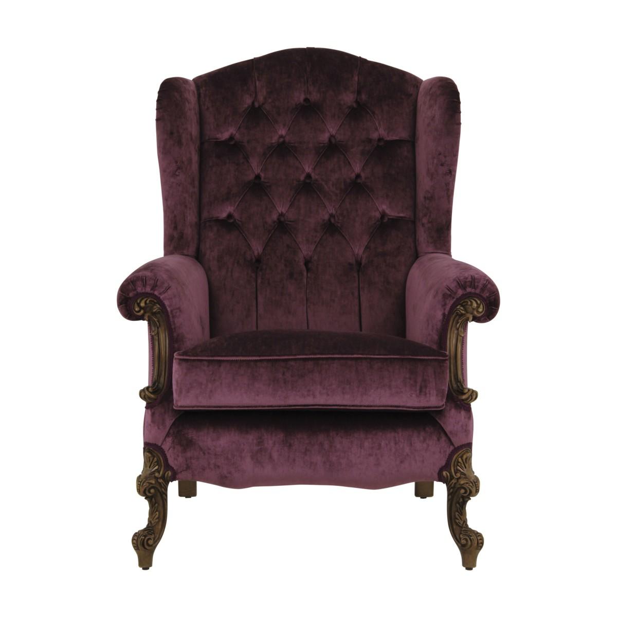 hotel armchair eneide 1 7031