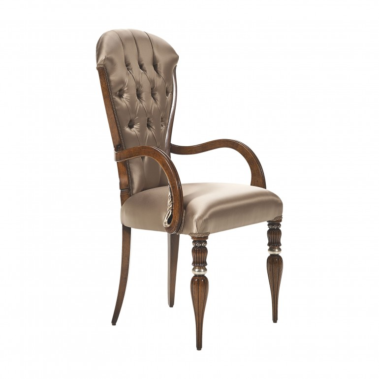 italian armchair adele 9325