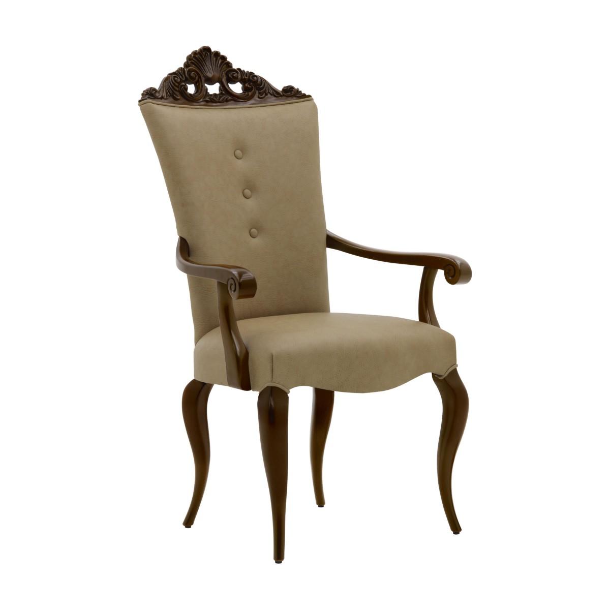 italian armchair antesia 5816