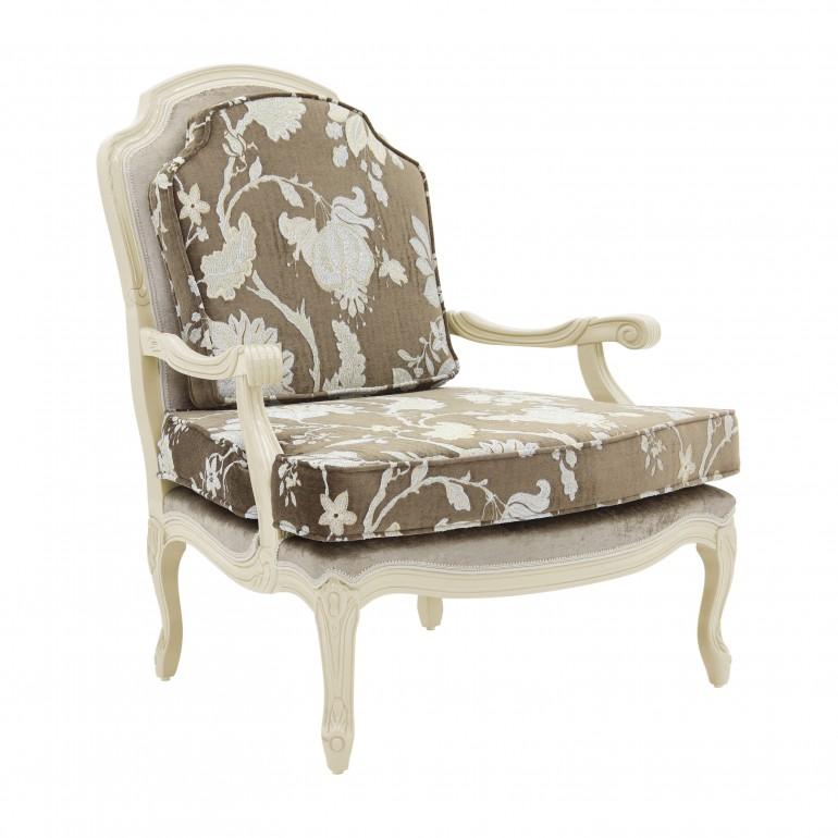 italian armchair grace 6128