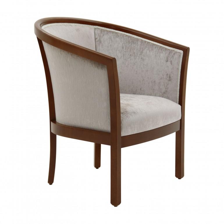 italian armchair leda 6393