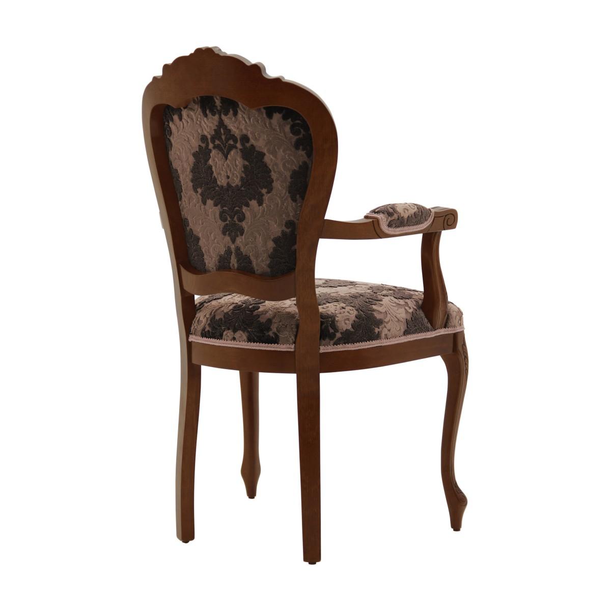 italian armchair miledi 1 1124