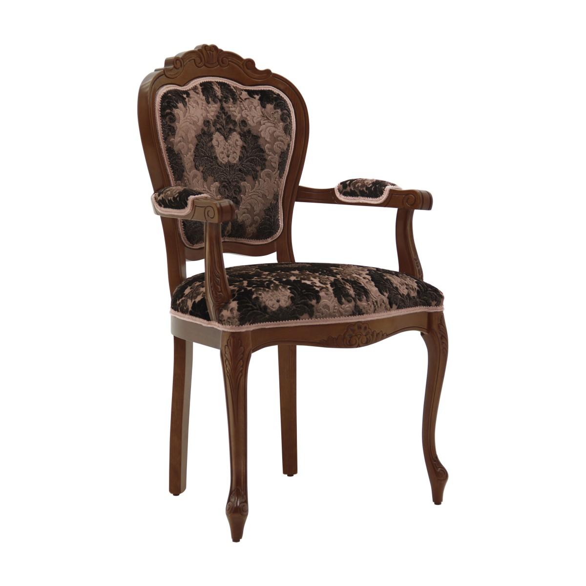 italian armchair miledi 3005