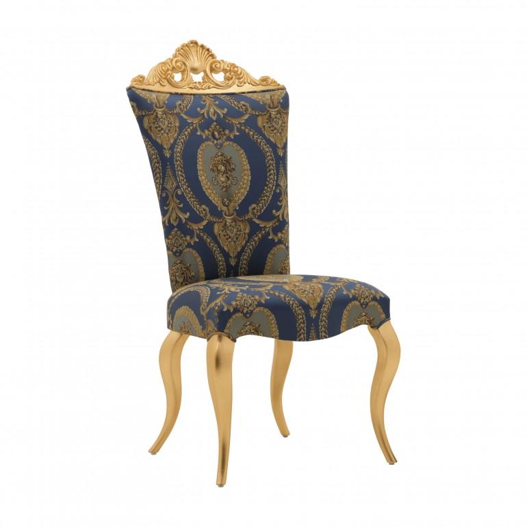 sedia legno stile barocco
