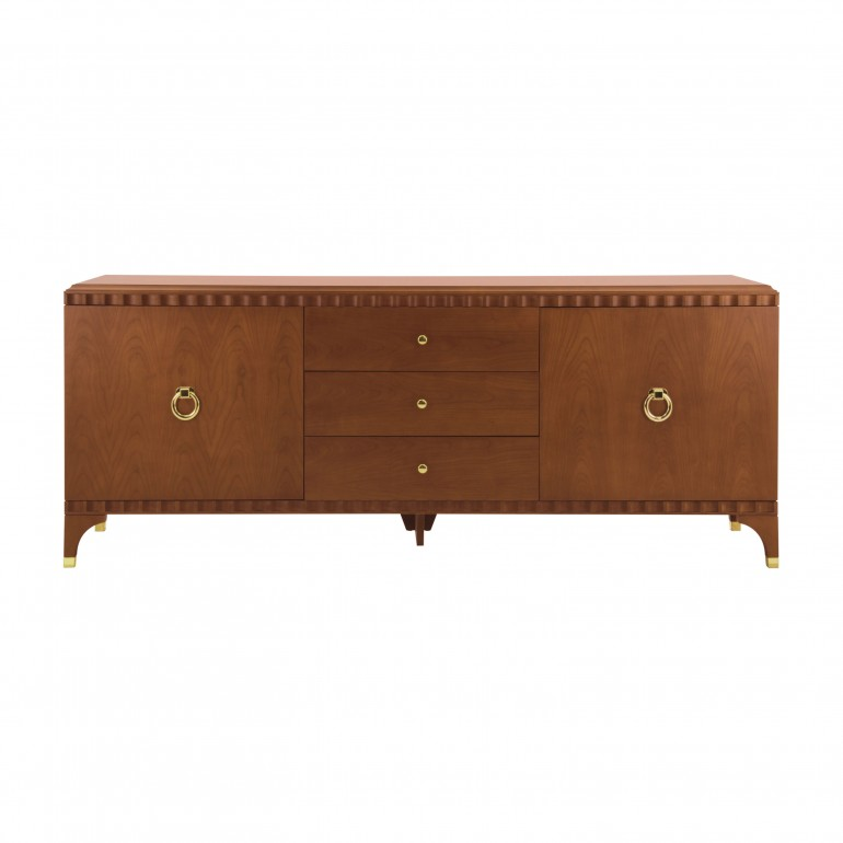 modern style wooden chest of drawers