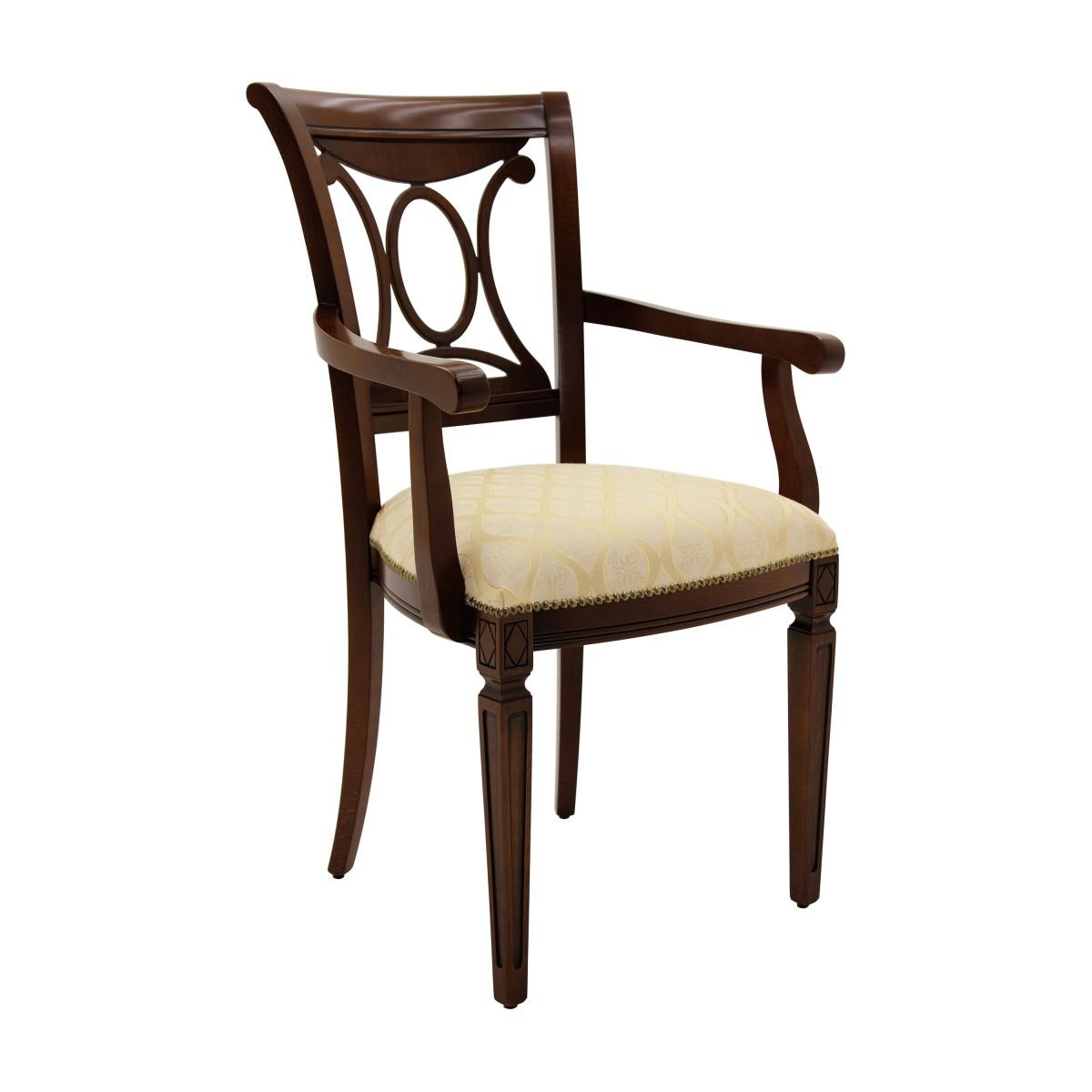 italian classic armchair archetto 1115