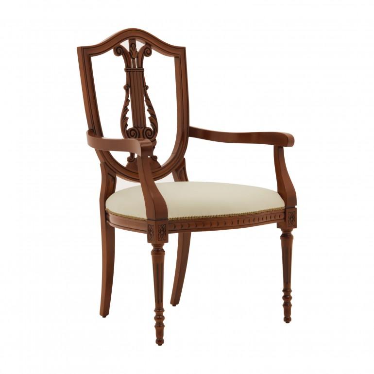 italian classic armchair violino 4703