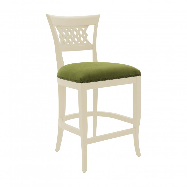 classic style wooden barstool