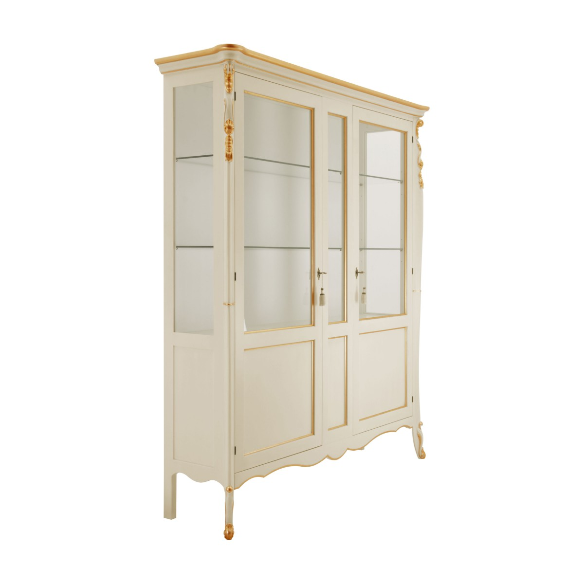 italian classic glass cupboard cinzia 1 9911